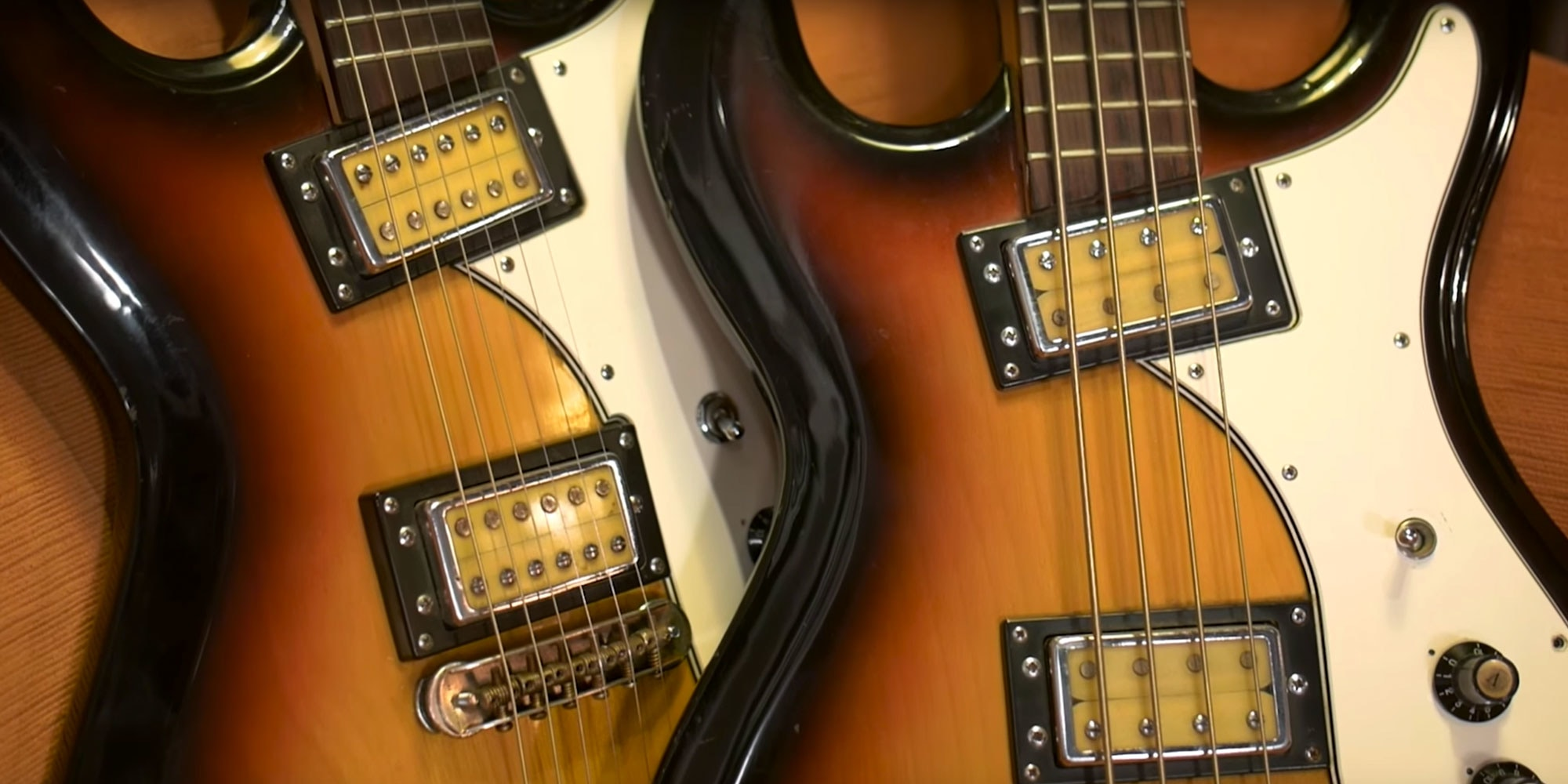 there's a certain mystique surrounding those funky univox hi-fliers  part  of it is due to the iconic guitar it was created to mimic
