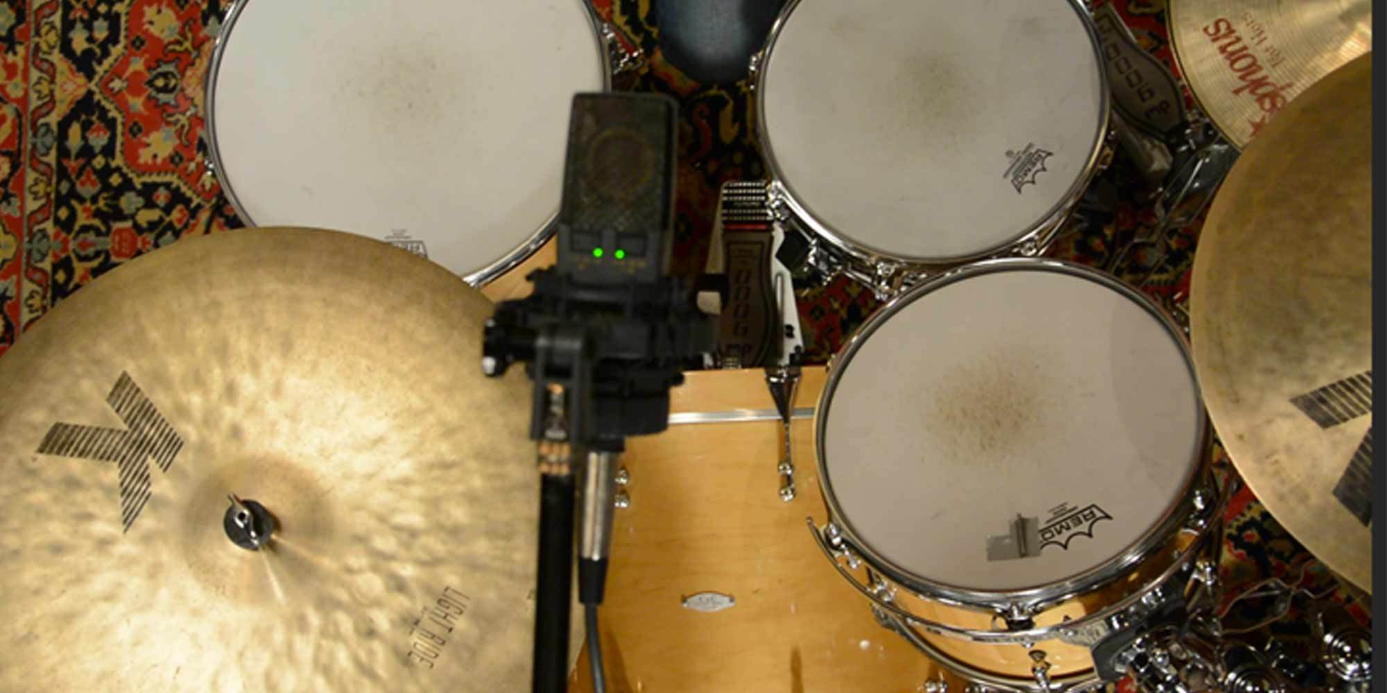 recording great drum sounds in small spaces reverb news