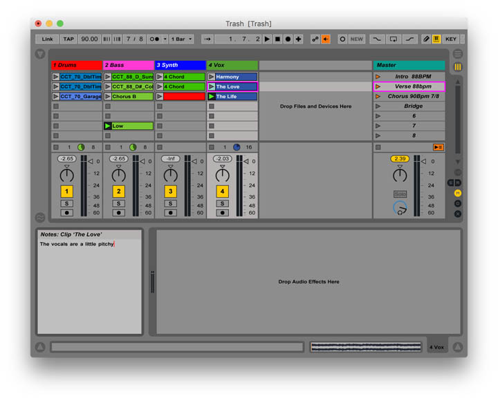 Maximizing Ableton Productivity: Tips for Organizing | Reverb News