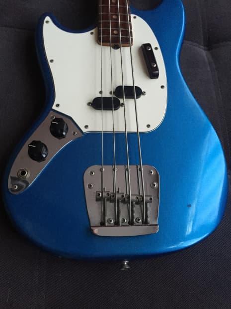 fender mustang bass left handed usa reverb. Black Bedroom Furniture Sets. Home Design Ideas