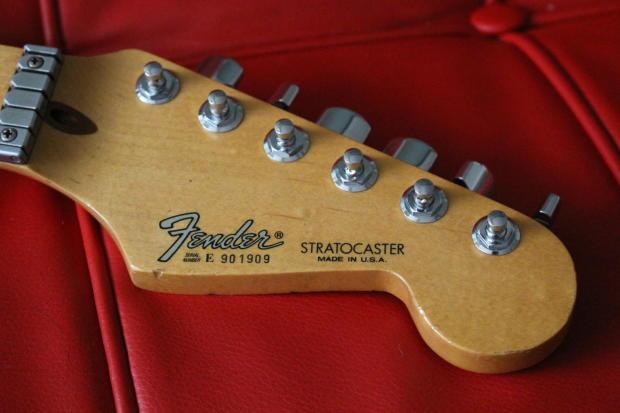 Fender Stratocaster Plus Strat Neck Wilkinson Roller Nut W