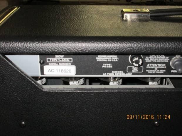 65 amp reverb twin vintage