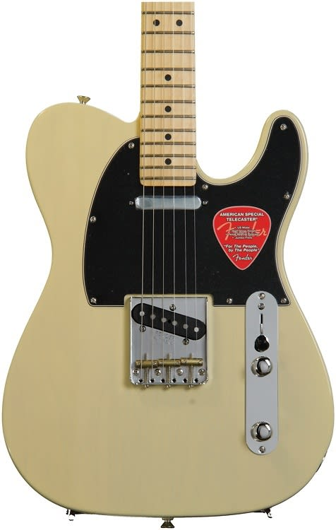 Telecaster Plus Wiring Diagram : Fender american special telecaster vintage blonde with