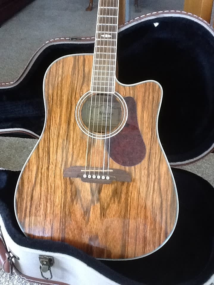 Alvarez Ad222cu Artist Series Dao Wood Acoustic Electric