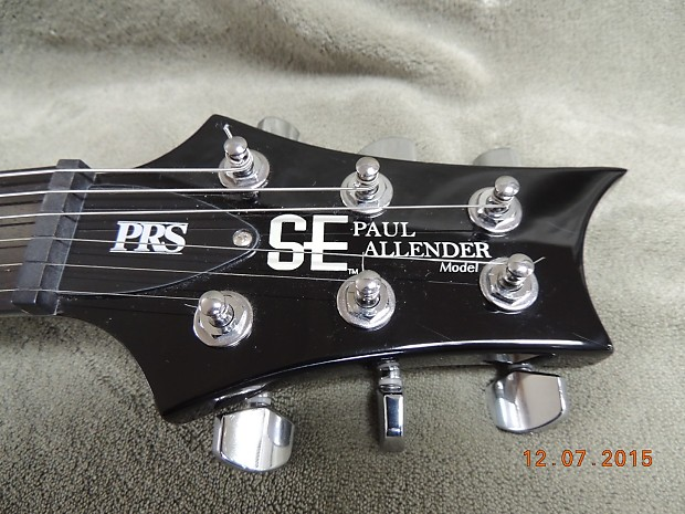 Paul Reed Smith SE Paul Allender with upgraded Dimarzio