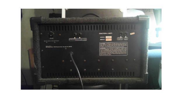 Vintage Crate Pcm 6 Mixer Amp 80s Grey Carpet Type