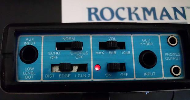 rockman x100 box photocopy of manual power supply koss reverb. Black Bedroom Furniture Sets. Home Design Ideas