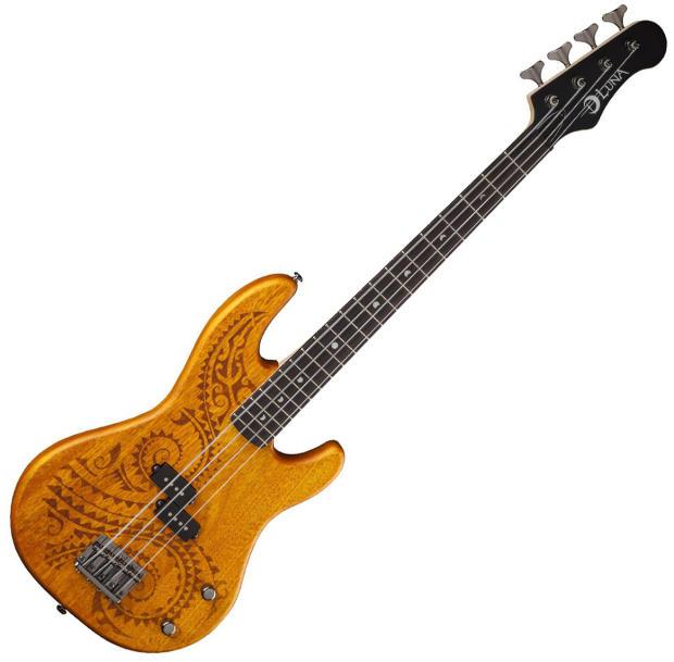 luna tattoo 30 short scale electric bass guitar reverb. Black Bedroom Furniture Sets. Home Design Ideas