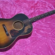 <p>1947 Gibson  LG-1 Sunburst rare vintage</p>  for sale
