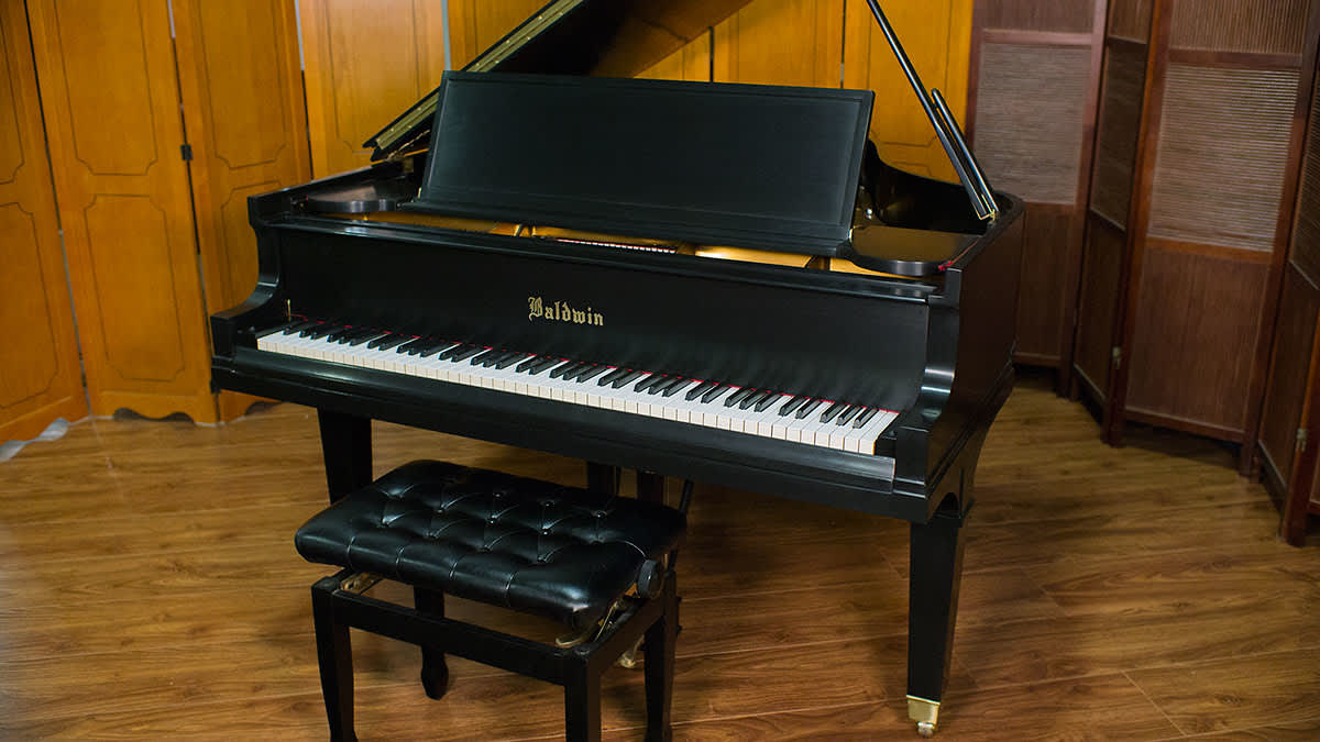 Rebuilt baldwin parlor grand piano model g 1929 reverb for What size is a grand piano