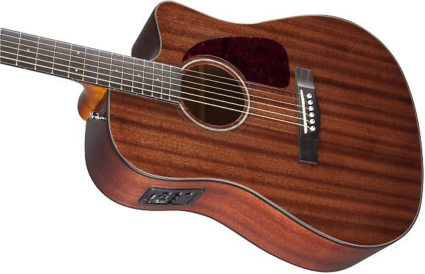 fender cd 140sce all mahogany acoustic electric guitar reverb. Black Bedroom Furniture Sets. Home Design Ideas