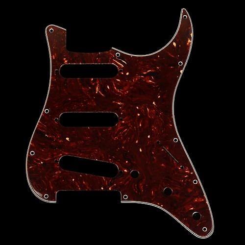 Fender Stratocaster Pickguard Tortoise Shell Reverb