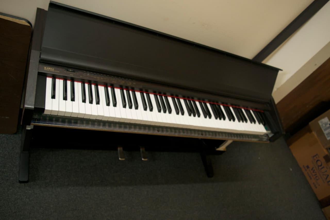 kawai pn100 digital piano for repair black reverb. Black Bedroom Furniture Sets. Home Design Ideas