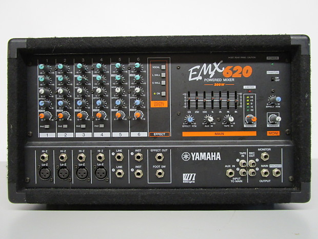 Yamaha Powered Mixer Model