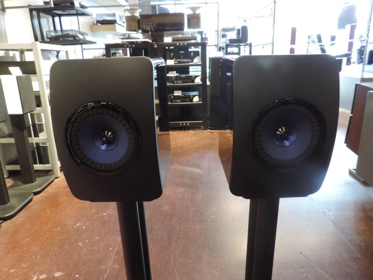 kef ls50 bookshelf monitor pair custom color combo high reverb. Black Bedroom Furniture Sets. Home Design Ideas