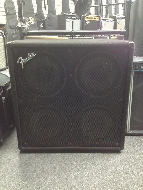 fender bxr410h 4x10 bass speaker cabinet reverb. Black Bedroom Furniture Sets. Home Design Ideas