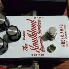 Greer Amps Southland Harmonic Overdrive   White image
