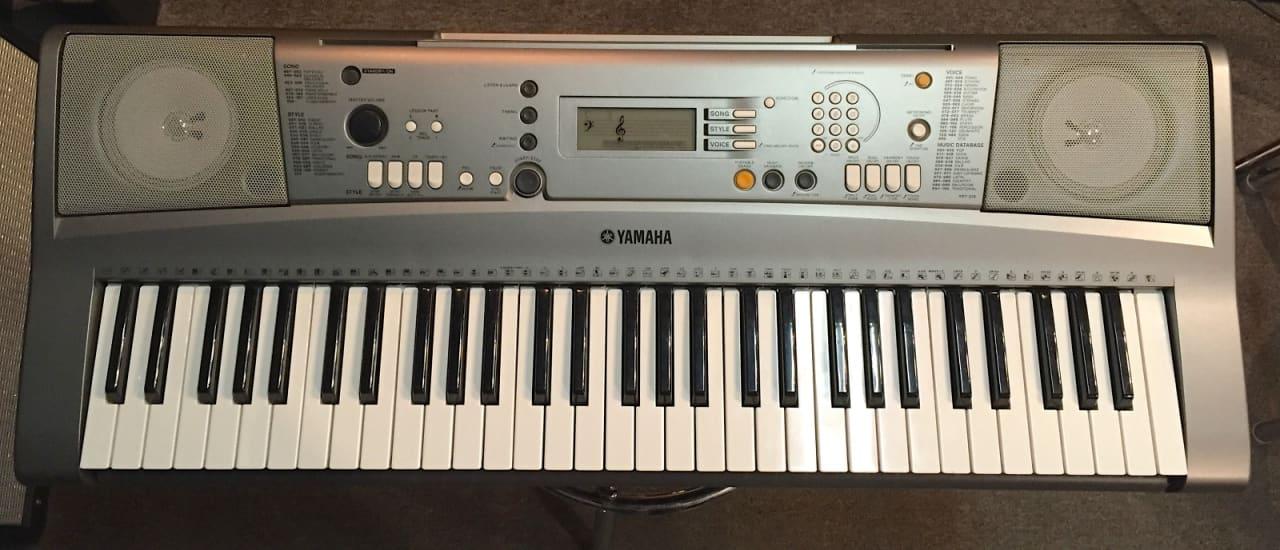 Yamaha ypt 310 portatone keyboard reverb for Yamaha portatone keyboard