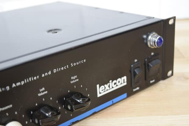 lexicon signature 284 guitar class a tube preamp power amp reverb. Black Bedroom Furniture Sets. Home Design Ideas