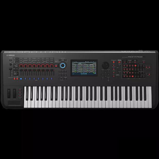 yamaha montage 6 61 key flagship synthesizer reverb. Black Bedroom Furniture Sets. Home Design Ideas