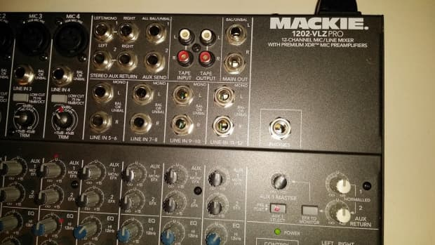 mackie 1202 vlz pro 12 channel mixer with premium xdr mic reverb. Black Bedroom Furniture Sets. Home Design Ideas