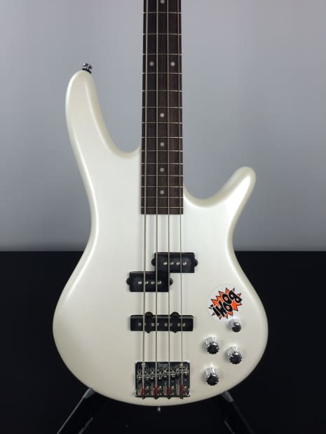 ibanez gsr200 gio sound gear electric bass pearl white reverb. Black Bedroom Furniture Sets. Home Design Ideas