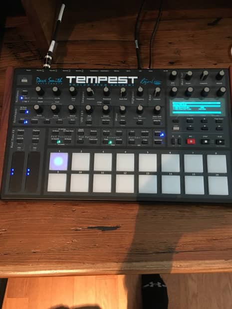 tempest analog drum machine