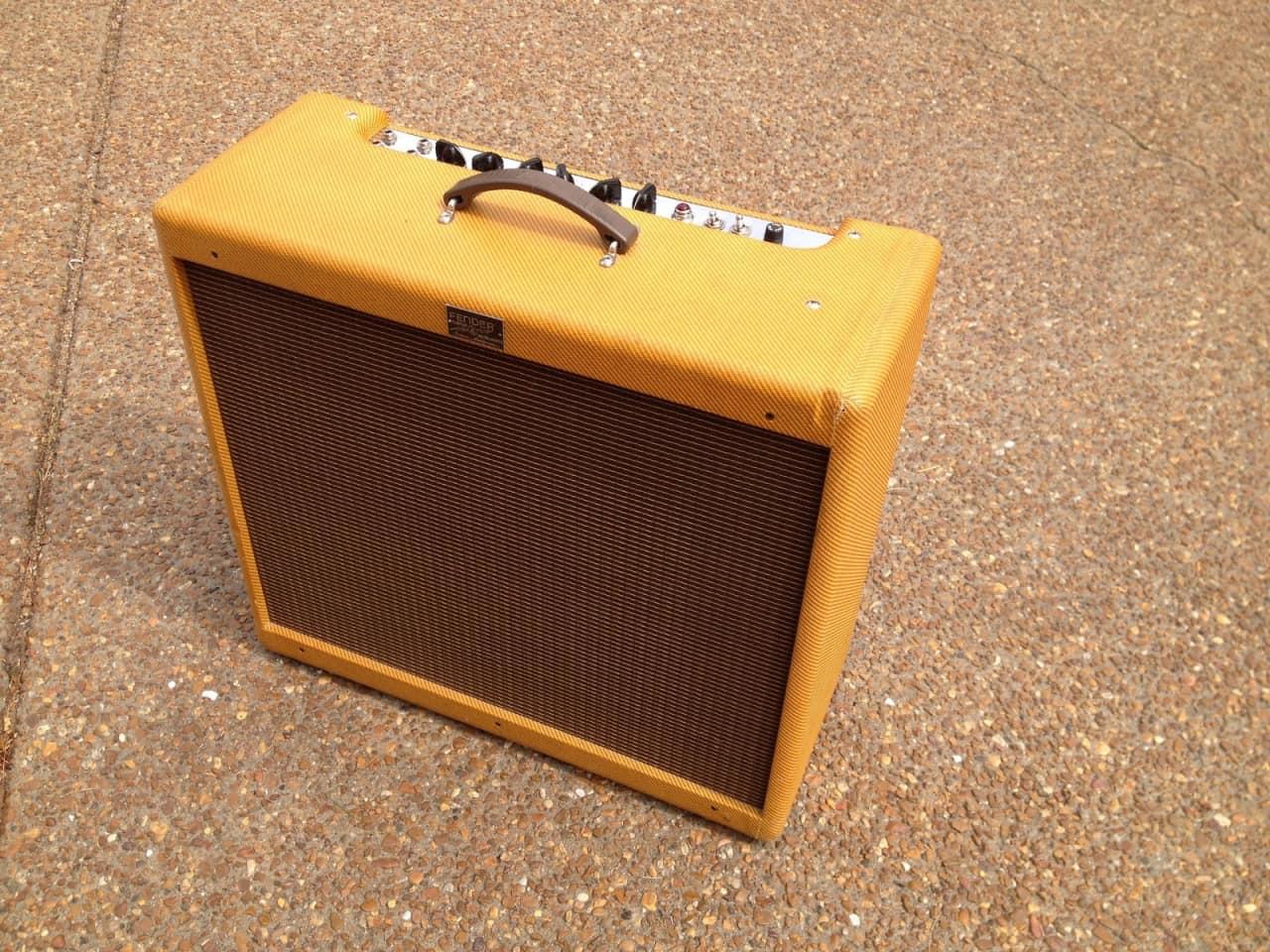 fender bass breaker custom shop tweed tube guitar amp combo reverb. Black Bedroom Furniture Sets. Home Design Ideas