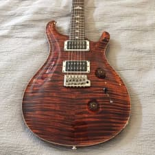 Paul Reed Smith Custom 24 with 10 Top Orange Tiger w/ case! image