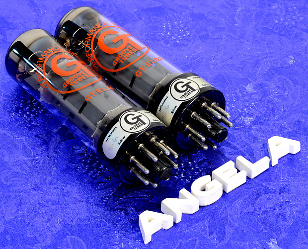 two 39 80s german el34 groove tubes very good used condition reverb. Black Bedroom Furniture Sets. Home Design Ideas