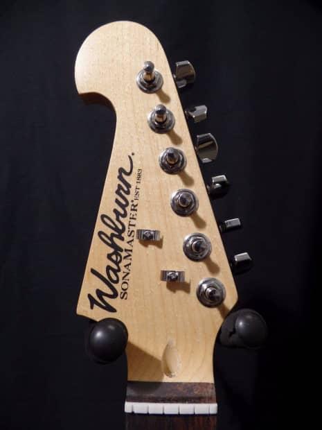 washburn reverse headstock electric guitar neck tuners reverb. Black Bedroom Furniture Sets. Home Design Ideas