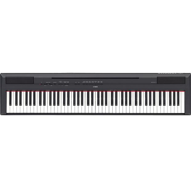 yamaha p115 digital piano black 88 key weighted action