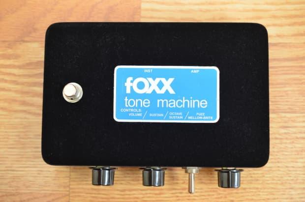 foxx tone machine reissue