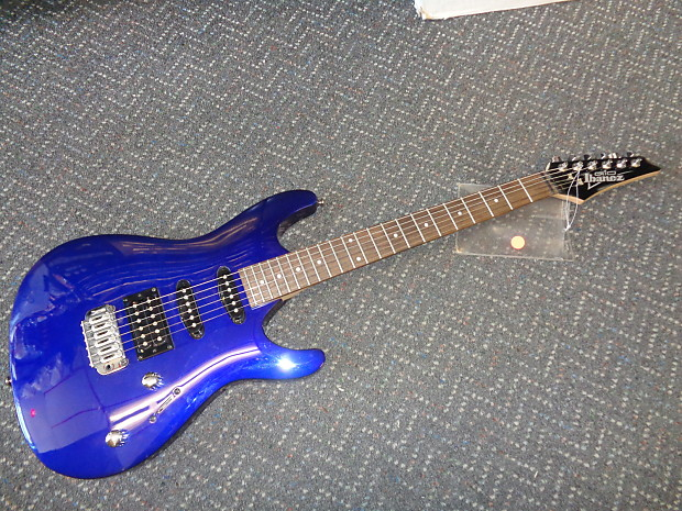 used ibanez gio gsa60 electric guitar midnight blue reverb. Black Bedroom Furniture Sets. Home Design Ideas