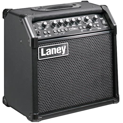 laney prism 20 modelling amp black special price and free reverb. Black Bedroom Furniture Sets. Home Design Ideas