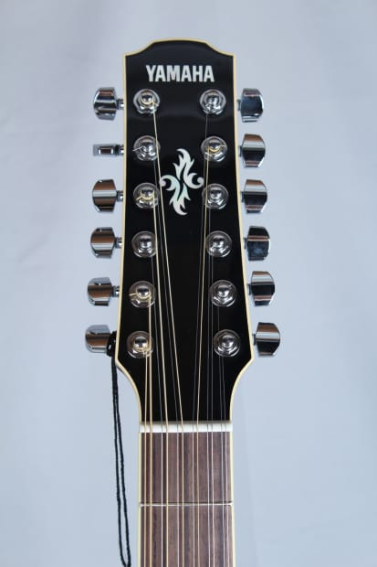 yamaha apx 700 12 string acoustic electric guitar black reverb. Black Bedroom Furniture Sets. Home Design Ideas