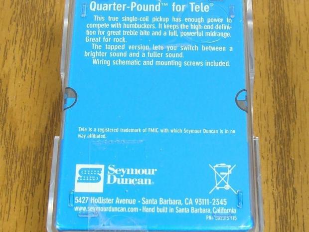 Seymour Duncan Quarter Pounder Tele Wiring Diagram : Seymour duncan quarter pound telecaster wiring diagram