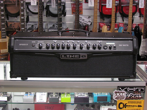 line 6 spider iv hd150 manual