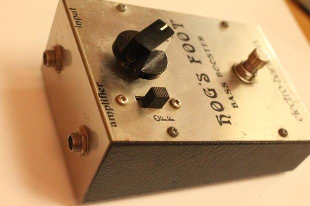 rare vintage electro harmonix hog 39 s foot bass booster pedal usa reverb. Black Bedroom Furniture Sets. Home Design Ideas