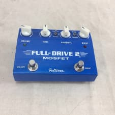 Used Fulltone Full-Drive 2 Mosfet Overdrive Guitar Pedal Fulldrive image
