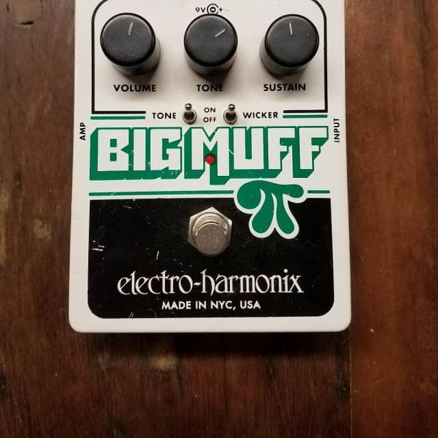Electro-Harmonix Big Muff Pi with Tone Wicker image