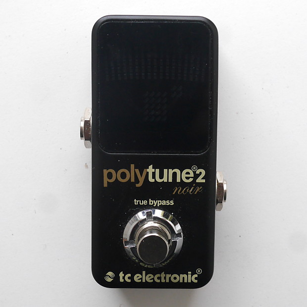 tc electronic polytune 2 noir tuning pedal reverb. Black Bedroom Furniture Sets. Home Design Ideas