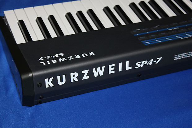 kurzweil sp4 7 digital piano keyboard 76 keys reverb. Black Bedroom Furniture Sets. Home Design Ideas