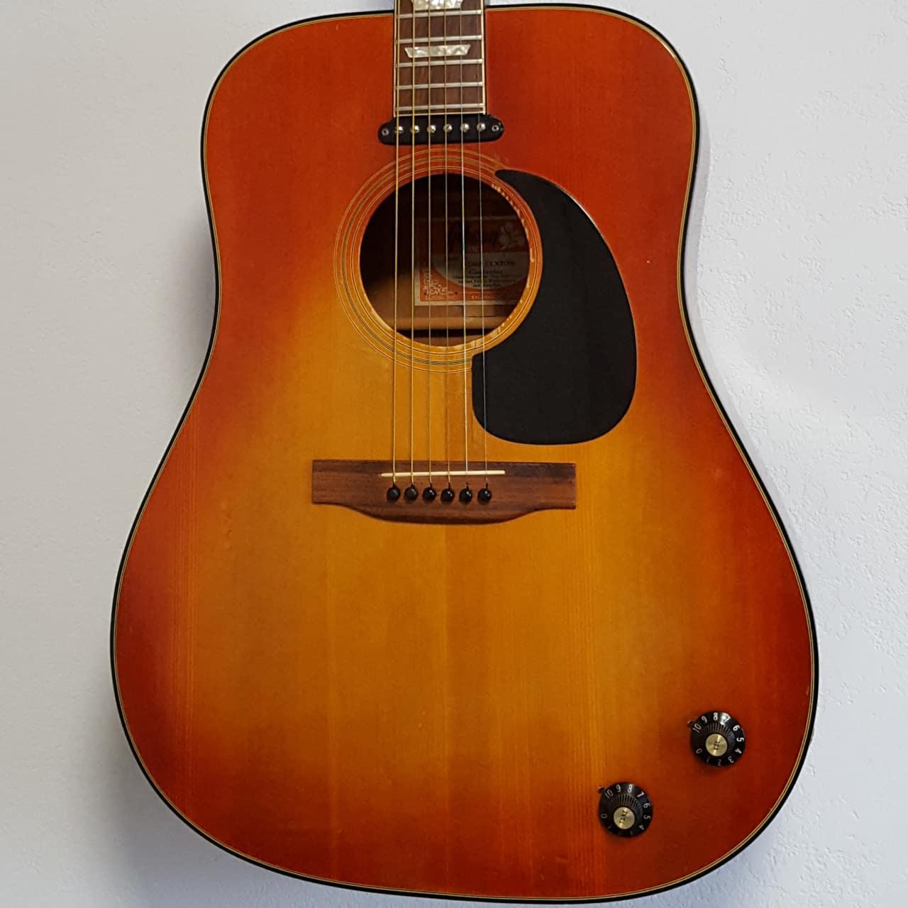 Progressive Near Me >> 1973 Gibson J-160E Custom Acoustic-Electric Guitar Vintage ...