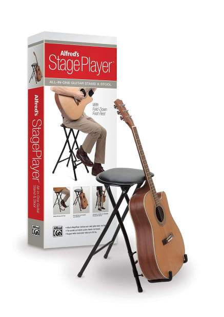 Stageplayer Guitar Stand And Stool By Alfred Reverb