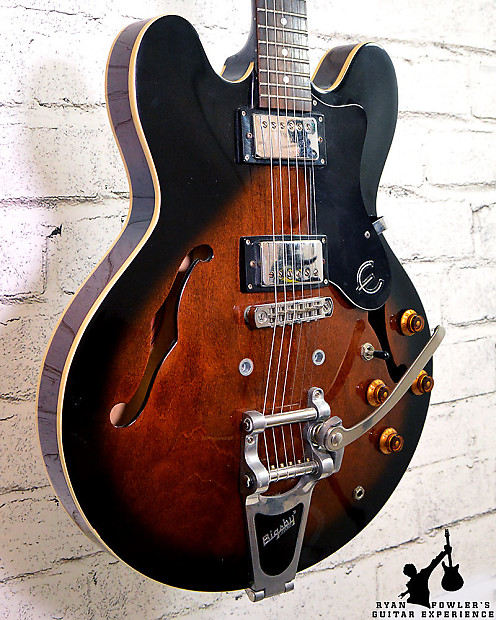epiphone dot with bigsby