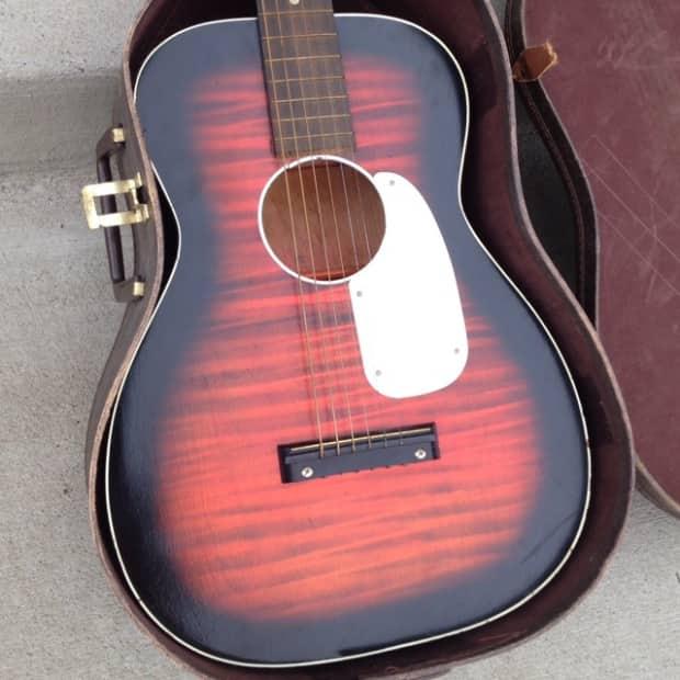 harmony stella acoustic guitar 1967 w original case reverb. Black Bedroom Furniture Sets. Home Design Ideas