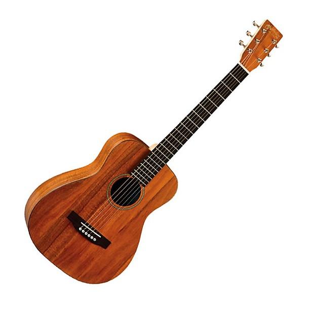 martin lxk2 little martin koa acoustic guitar with gig bag reverb. Black Bedroom Furniture Sets. Home Design Ideas