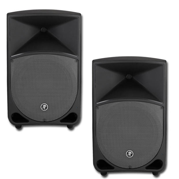 mackie thump th 12a pair two way powered loudspeaker reverb. Black Bedroom Furniture Sets. Home Design Ideas