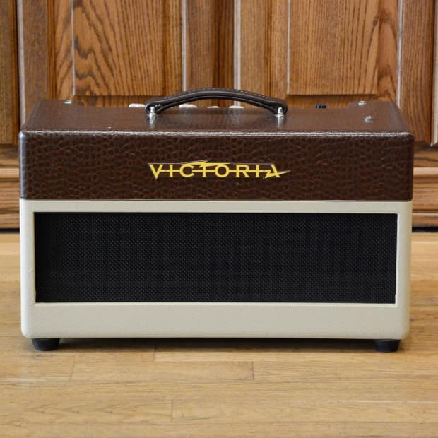 Victoria Cherry Bomb Amp Head Brown 2012 USED | Reverb